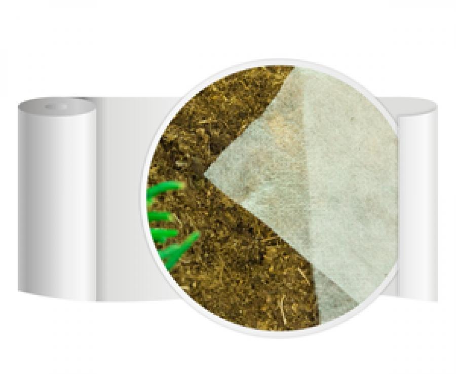 Агротекс'Пром 17 белого цвета с укрепленными краями.