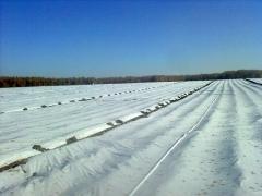 Агротекс'Пром 30 белого цвета с укрепленными краями.