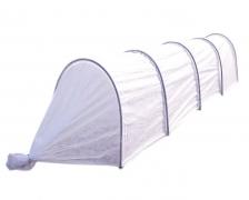 Парник 4 м, дуги вшиты в материал – «гармошка»