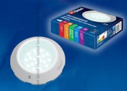 Cветильник cветодиодный антивандальный ULT-V19-8W/NW Мобула IP54 WHITE . 8,5 Вт, 680 Лм; Цвет свечения белый, IP54; корпус белый Uniel