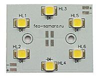 Кластер светодиодный 3 вт