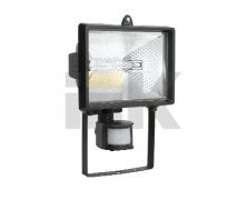 Прожектор ИО500Д (детектор) галогенный черный IP54 (12шт) ИЭК