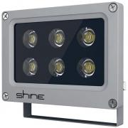 Прожектор светодиодный LED 6W IP65 угол пучка 60гр (световой поток 510 лм) SHINE