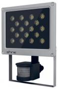 Прожектор светодиодный LED 18W IP65 угол пучка 60гр (световой поток 1500 лм) с датчиком движения SHINE