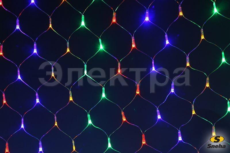 A-010 LED MIX светодиодная сетка 1.5x2м 320LED