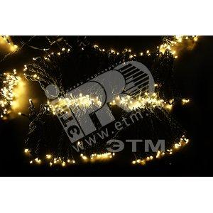 Гирлянда LED ClipLight 2х4В 5 нитей по 20 метров теплый белый (323-506)
