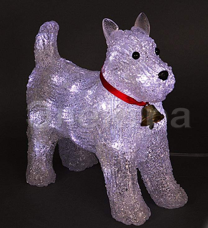 """A-272 акриловая фигурка 3D светодиодная """"Собака"""""""