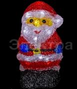 """A-905 акриловая фигурка 3D светодиодная """"Дед Мороз"""""""