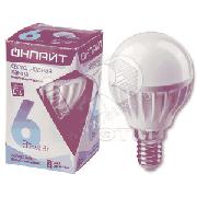 Лампа светодиодная LED 6вт E14