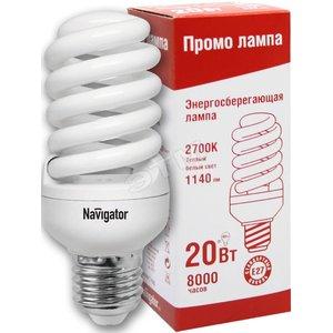 Лампа энергосберегающая КЛЛ 20/827 Е27