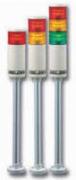 Светодиодные светосигнальные колонны серия TL56L – Ø56 мм, до 3 цветов