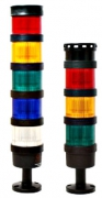 Светодиодные светосигнальные колонны серия TL70 – Ø70 мм, до 5 цветов