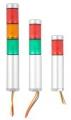 Светодиодные светосигнальные колонны серия TL25 – Ø25 мм, до 3 цветов