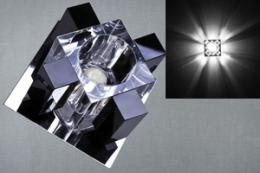 01028-9.0-001A G9 CR+BK светильник точ.