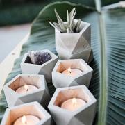 Горшок для декора (свечей)
